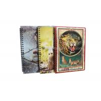 Stationery Diary A4 Size Notebooks 3D Lenticular Cover Of Famous Views Manufactures