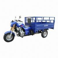 150/200/250cc Three-wheel Tricycle, 200kg Maximum Loading, 1.7 x 1.2m Cargo Size Manufactures