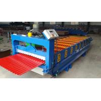 3kw Aluminium Wall Panel Roll Forming Machine with Hydraulic moulding cutter Manufactures