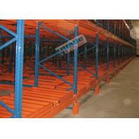 1500 Kg Max Load Material Handling Racks Storage Push Back Racking For Freezers Manufactures