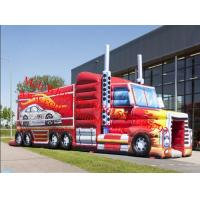 Wholesale Outdoor Inflatable Truck Obstacle Course Challenge Manufactures