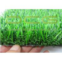 Waterproof Evergreen Artificial Grass For Home Garden C shaped + curly Yarn Manufactures