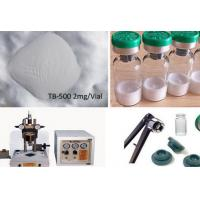 Quality 99.5% Purity Peptide Raw Powder TB-500 for Muscle Injuries Treatment 2mg/vial, for sale