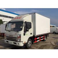 Dongfeng 5 Tons Refrigerated Van Truck , Mobile Cold Room Truck For Fruits / Seafood Manufactures