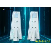 PIR Motion Sensor All In One Solar Street Light With MPPT Controller Manufactures