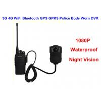 Wearable IP68 Law Enforcement Body Camera For Security Officers , ABS Material Manufactures