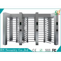 Security Mechanical  Full Height Turnstiles Top Grade Traffic Pedestrian System Manufactures