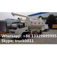 Euro 4 120hp CLW5110ZSLD4 animal bulk feed delivery truck for sale, 10-14m3 farm-oriented livestock animal feed truck Manufactures