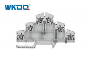 JDLD 2.5-3VN Spring Loaded Terminal Connector Triple Deck Low Voltage Screwless Manufactures