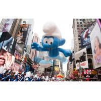 Smurfs Shape Giant Advertising Balloons Outdoor 0.18mm PVC material Manufactures
