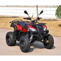 Automatic 200CC ATV Red 4 Wheels Digital Speed Meter With Two Seat Manufactures
