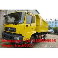hot sale best price 4*2 LHD 170hp/190hp dump truck, Euro 3 dongfeng tianjin dump tipper truck for stone and coals Manufactures