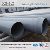 China manufacturer grey 160mm 1.6mpa pvc plastic pipe prices Manufactures