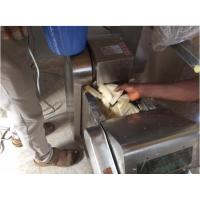 stainless steel plantain yam potato chips cutting machine YQC600 model Manufactures