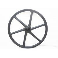 Quality 30MM*30MM Carbon 6 Spoke Wheels , 26 Mountain Bike Wheels Clincher With Novatec Hub for sale