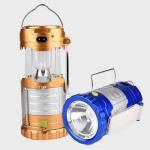 Solar USB Port Recharger Tent Lamp With Desk Reading Lamp Table Lantern  LED Camping Light Tensile Lantern Flashlight