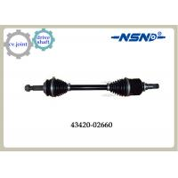 Front Right Automotive Shaft drive Axle 43420-02660 With Impact Structure Manufactures