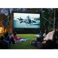 6 Meter Airblown Inflatable Movie Screen PVC Tarpaulin Or Oxford Cloth Manufactures