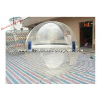 Large Adult Inflatable Water Walking Ball , Human Sized Hamster Ball Rental Manufactures