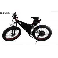 China Brushless Motor Fat Tyre Wheel Electric Snow Bike With Huge Tires Alloy Frame on sale