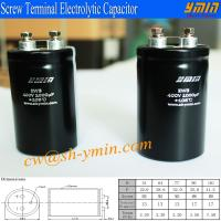 400V 1000uFCapacitor Super Long Life High Power Supply Screw Terminal Aluminum Electrolytic Capacitor Manufactures