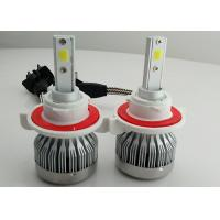 Auto C1 H13 LED Headlight 9008 Fanless COB 30W 3000 Lumen Super Bright Manufactures