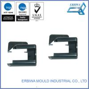 Black Auto Spare Parts Custom Car Accessories Plastic Exterior Trim Injection Molds Manufactures