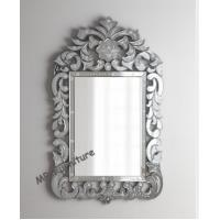 Quality Etching Venetian Wall Mirror For Home Decor Europe Design 70 * 110cm Size for sale