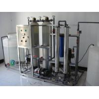 Fully Automatic Water Purification Equipment RO 2.75kw for PET Bottle Manufactures