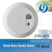 Wireless security Optical Smoke Detector Home Smoke Alarm system Manufactures