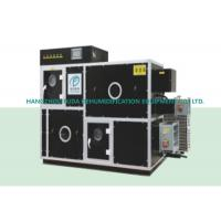 Double Wheel Low Humidity Dehumidifier , Moisture Adsorption Industrial Dehumidifiers Manufactures