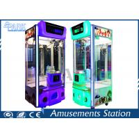 Crzay Toy 3 Crane Game Machine Toy Vending Game Machine For Sale Manufactures