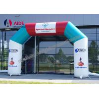 Free Logo Print Air Entrance Arch Inflatable Sports Tunnels For Running Race Manufactures