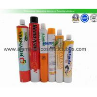 Hot Stamping Squeeze Tube Packaging , Pharmaceutical Aluminum Tubes Non Spill Manufactures