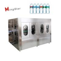 CE Automatic Bottle Filling Machine Pet Bottling Rinsing Filling Capping Line Manufactures