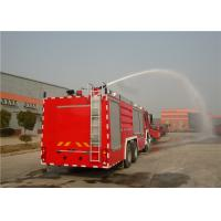 Quality Four Doors Cab Foam Fire Truck HOWO Chassis Four - Stroke Intercooled Engine for sale