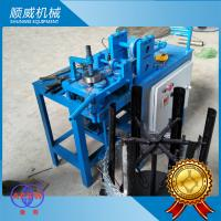 Quality 3KW Power Razor Barbed Wire Machine , Blade Barbed Razor Wire Machine for sale