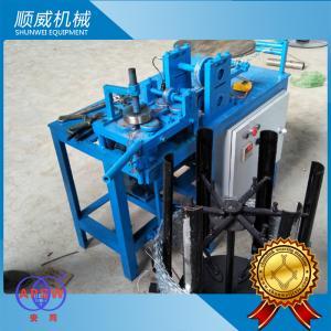 Buy cheap 3KW Power Razor Barbed Wire Machine , Blade Barbed Razor Wire Machine from wholesalers