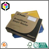 Black Color Offset Printing Corrugated Shipping Box; Cardboard Mailing Box Manufactures