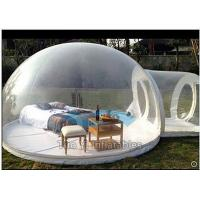 Beautiful Transparent Bubble Tent Inflatable Snow Globe for Outdoor Camping Manufactures