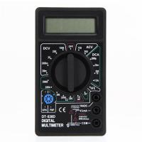 Mini Digital Multimeter with Buzzer Voltage Ampere Meter Test Probe DC AC LCD Manufactures