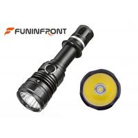 10W Powerful High Beam Cree LED Torch Water Resistant 2 Switches Tactical Flashlight Manufactures
