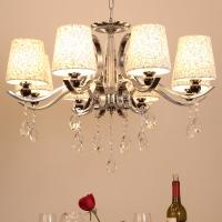 Iron metal sphere chandelier with lampshade for home lighting (WH-MI-57) Manufactures