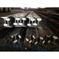Quality Coal Mine Light Steel Crane Rail Sections / Standard Mining Overhead Crane Rail P22 P24 for sale