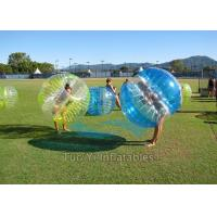 Heat Sealed 1.2m Dia. Inflatable Human Zorb Ball 1.00mm PVC For Rental Manufactures