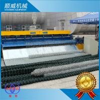 Automatic Chain Link Fencing Machine / 0.5m - 4.2m Weaving Breadth Manufactures