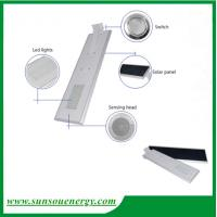 40w wireless motion sensor all in one led street light, easy installation integrated solar street light Manufactures