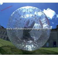 Funny And Safety Football Inflatable Body Zorb Ball Rental For Kids Manufactures