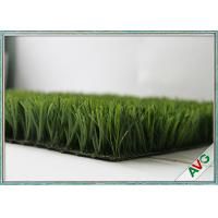 China Natural Looking Synthetic Football Artificial Grass Lawn Turf Carpet Straight Yarn Type on sale