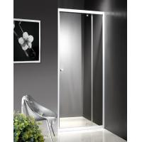 Quality 800x1900mm Convenient Clear Glass Bathroom Doors Free Standing Type KPN2089 for sale